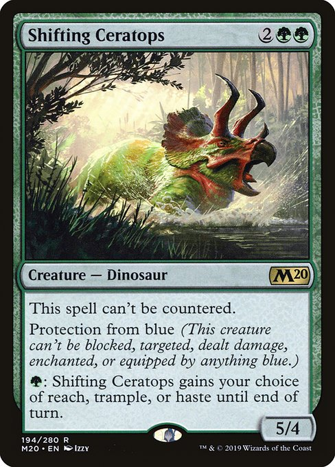 Shifting Ceratops