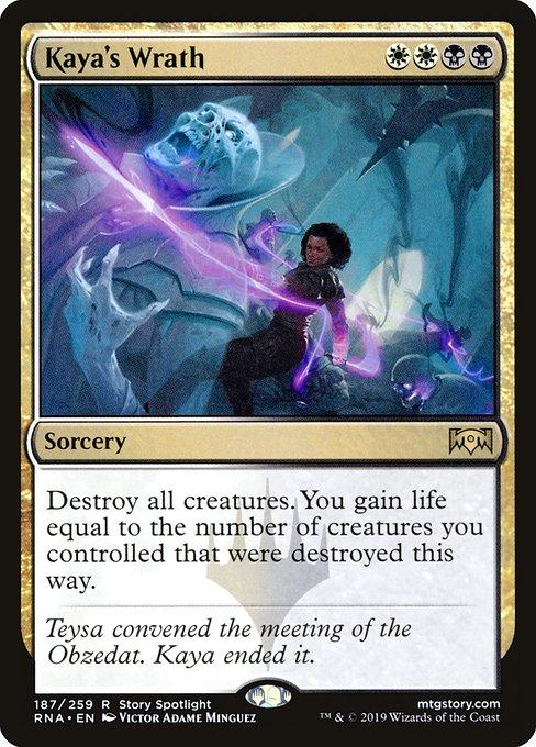Kaya's Wrath