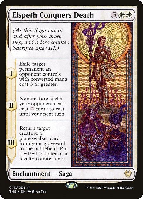 Elspeth Conquers Death