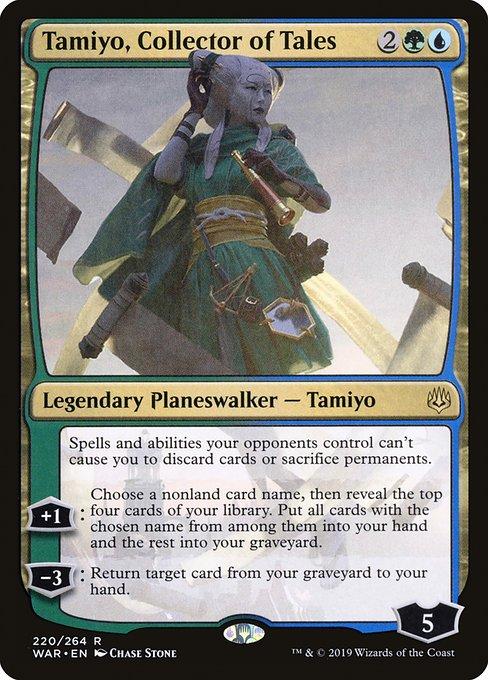 Tamiyo, Collector of Tales