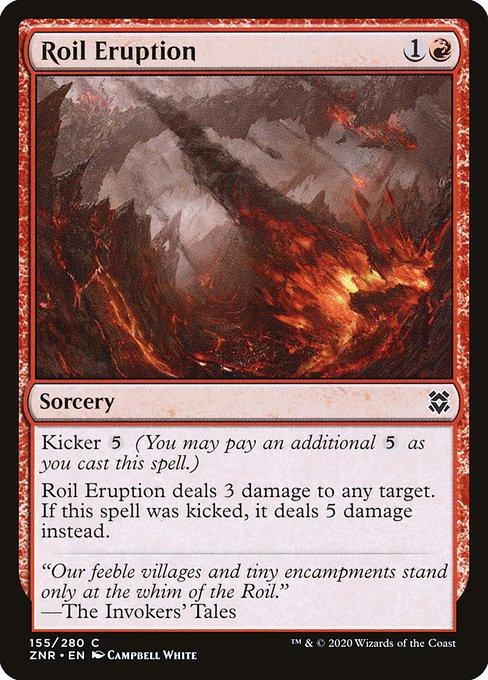Roil Eruption