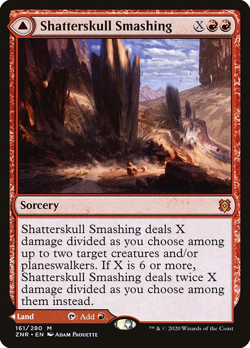 Shatterskull Smashing // Shatterskull, the Hammer Pass